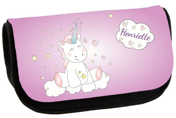 Schminktasche Kosmetiktasche Unicorn Einhorn cutie
