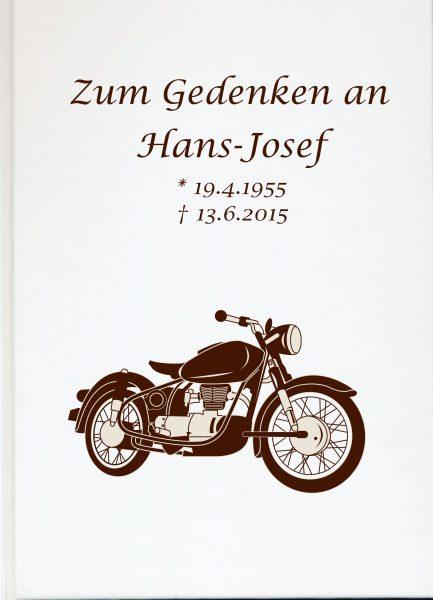 Fotoalbum Erinnerungsbuch Motorrad