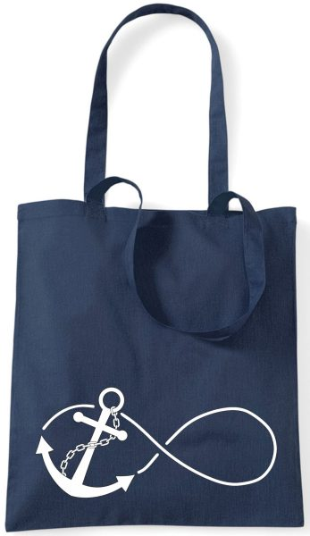 Stofftasche navy Anchor Infinity