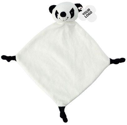 Plüsch-Schnuffeltuch Panda