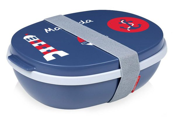 Rosti Mepal Lunchbox To Go Ellipse duo