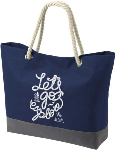 Shopper Bag Einkaufstasche Maritim Nautical Ocean
