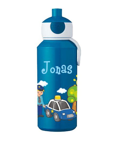 Trinkflasche Mepal Campus Pop-Up Blau Polizei