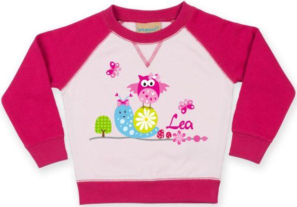 Kinder Kontrast Sweatshirt