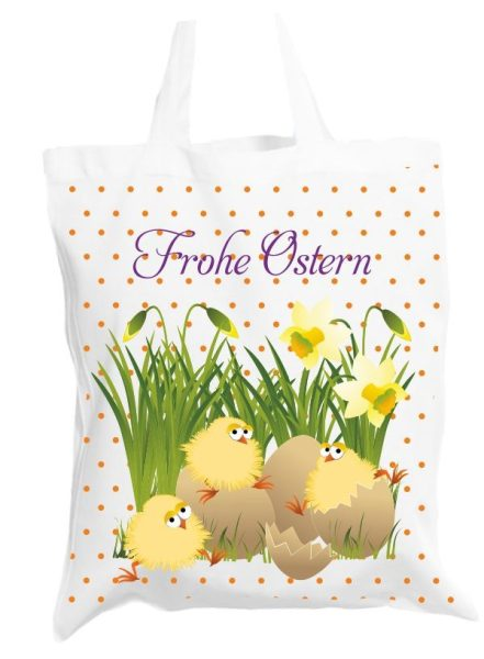 Stofftasche Frohe Ostern