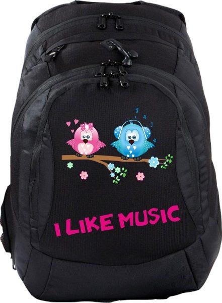 Schulrucksack Teen Compact I Like Music