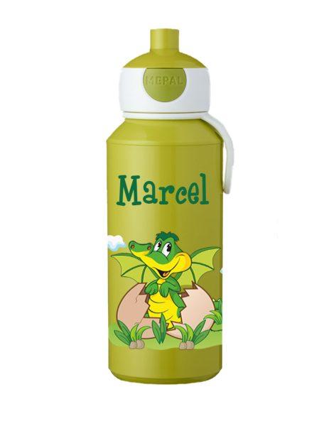 Trinkflasche Mepal Campus Pop-Up Lime - Motivauswahl