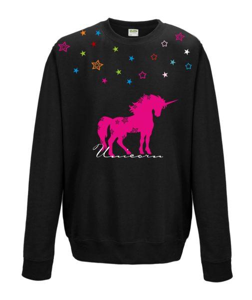 Sweatshirt Shirt Pullover Pulli Unisex Einhorn