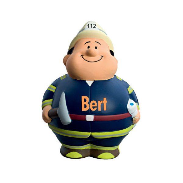Squeezies® Knautschfigur Herr Bert Feuerwehr mit Namen Feuer Bert®