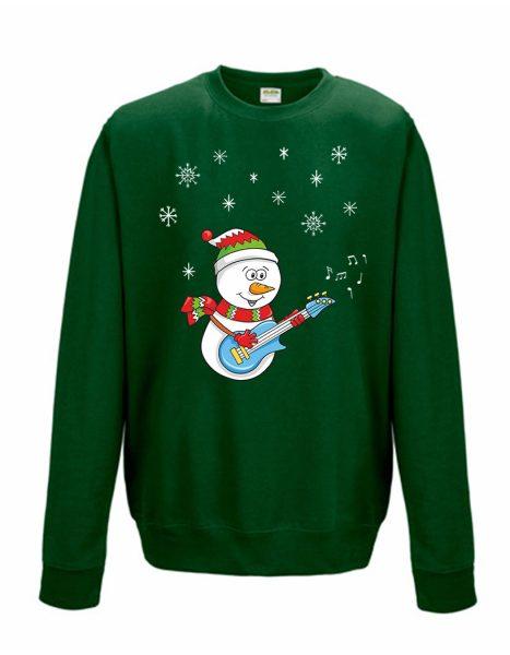 Sweatshirt Shirt Pullover Pulli Unisex Weihnachten Winter Schneemann