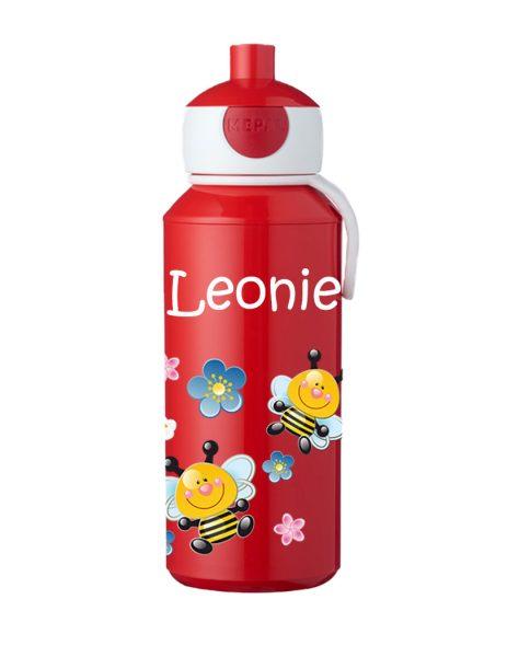 Trinkflasche Mepal Campus Pop-Up Rot Bienen