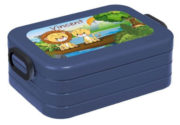Brotdose Lunchbox Maxi Take A Break midi BENTO Box mit Gabel