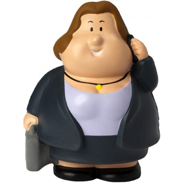 Squeezies® Knautschfigur Herr Bert Business Berta