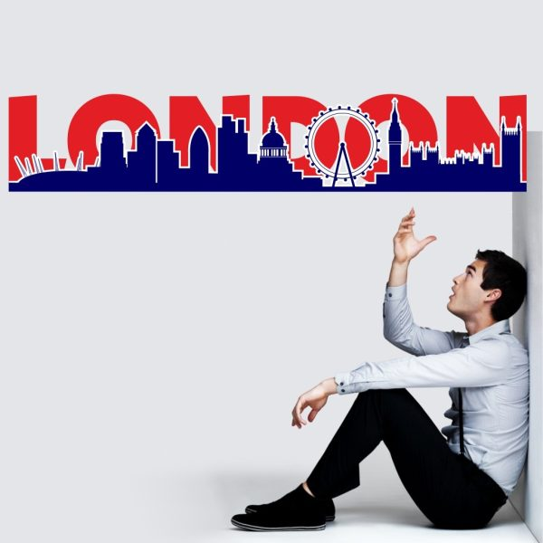 "Wandtattoo ""London Silhouette"""