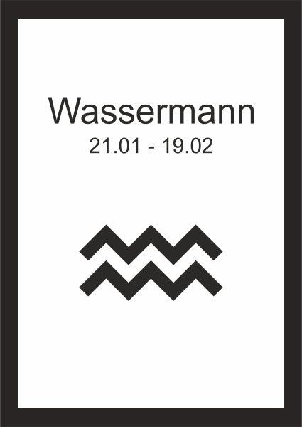 Wassermann Sternzeichen kunstdruck sternzeichen wassermann | kunstdrucke | deko