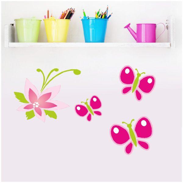 "Wandtattoo ""Blüten Nele"""