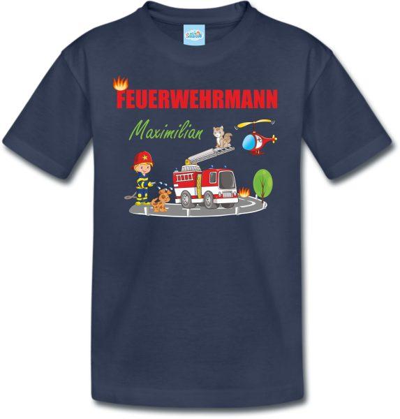 Feuerwehrmann Shirt T-Shirt für Jungen