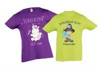 Schulanfangsshirt für Jungen und Mädchen