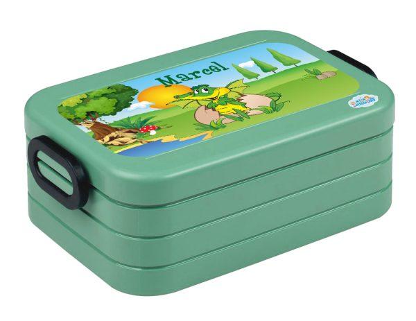 Brotdose Lunchbox Maxi Take A Break midi Nordic Green, versch. Motive