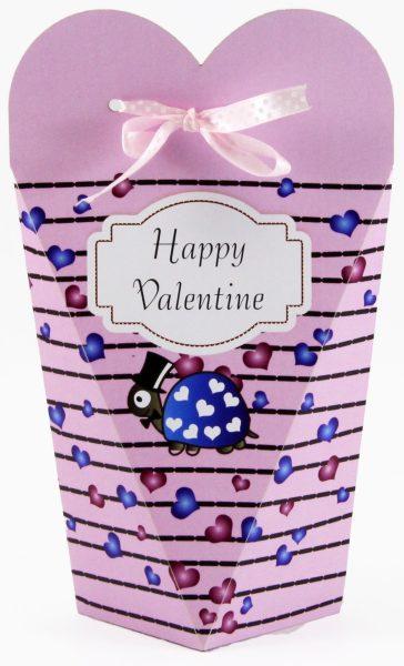 Persönlicher Geschenkkarton zum Valentinstag Schildkröten