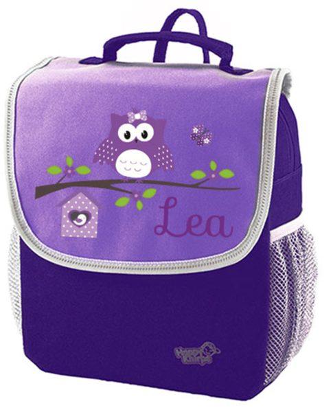 Kindergartenrucksack Happy Knirps NEXT Mit Name, Lila Motivauswahl