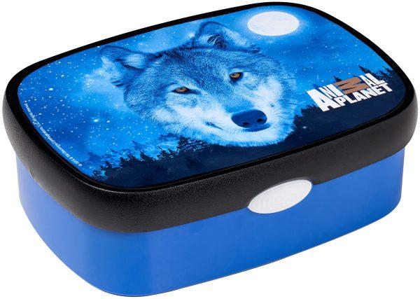 Brotdose Sonderedition Rosti Mepal Campus midi - Animal Planet Wolf