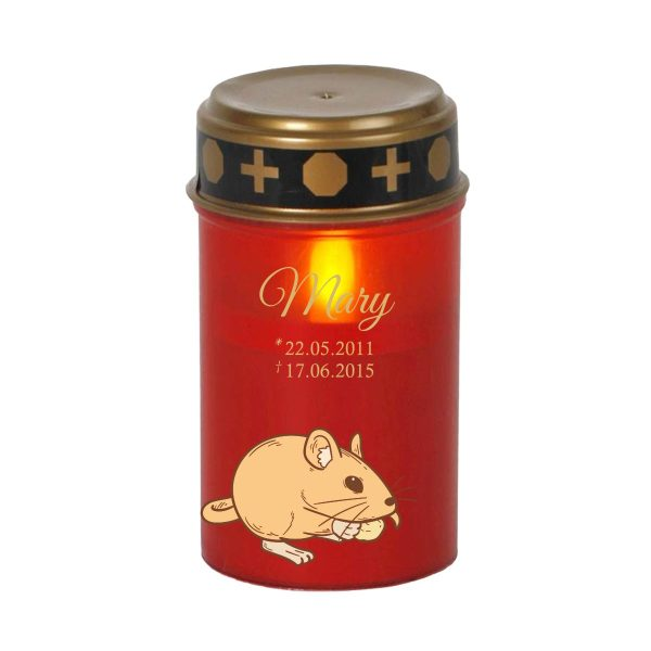 LED Grablicht Kerze Klein für Tiere Nager