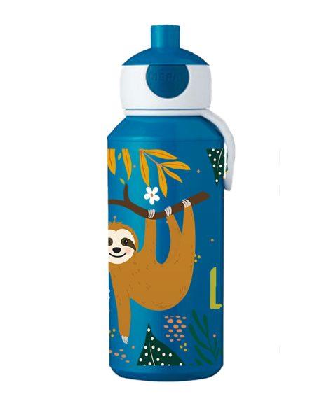 Trinkflasche Mepal Campus Pop-Up Blau Faultier Junge