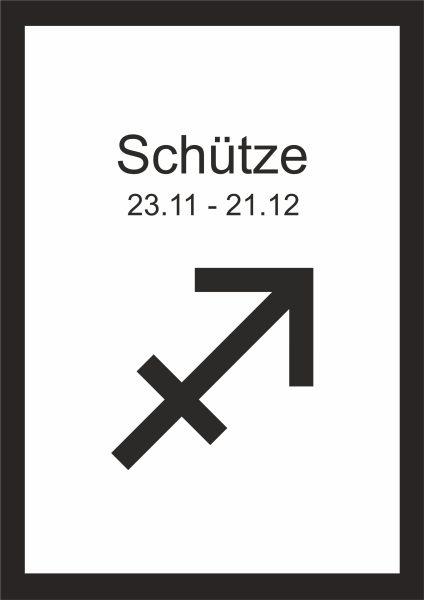 Sternzeichen Schütze Wann kunstdruck sternzeichen schütze | kunstdrucke | deko & accessoires