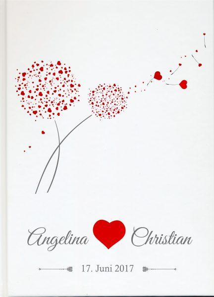 Personalisiertes Gästebuch für Ihre Hochzeit (Motiv 49)