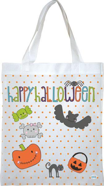 Stofftasche Happy Halloween 1