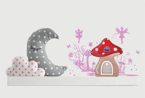 Zauberhafte Elfentürchen Feentürchen Wichteltür Pilzhaus Elfentanz