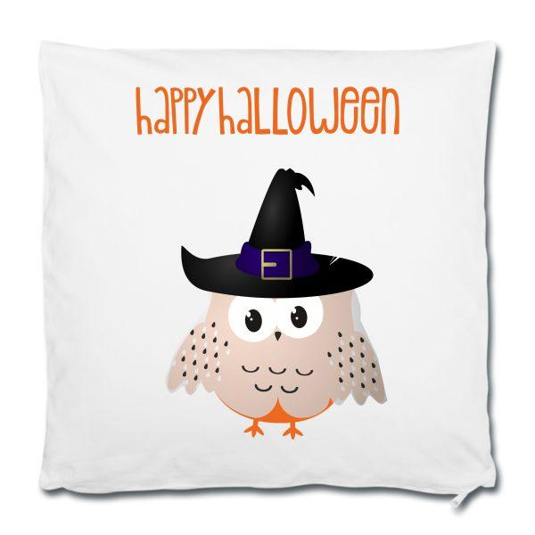 Dekokissen Kuschelkissen Halloween Happy Eule