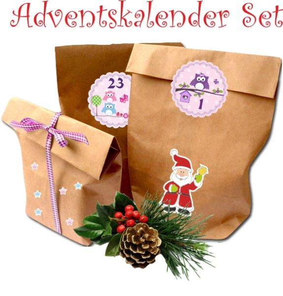 "Adventskalender ""Eulen"""