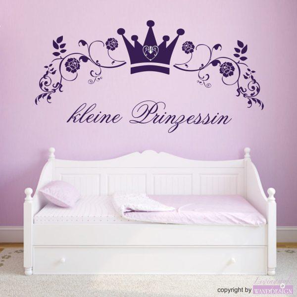 """Wandtattoo """"kleine Prinzessin"""""""