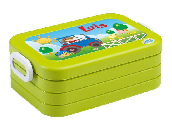 Brotdose Lunchbox Maxi Take A Break midi Lime, versch. Motive