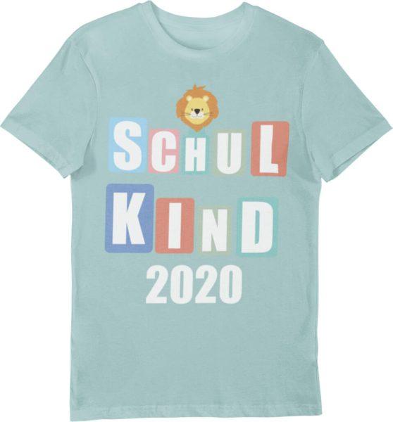 Schulanfangsshirt Schulkind 2020 für Jungen und Mädchen
