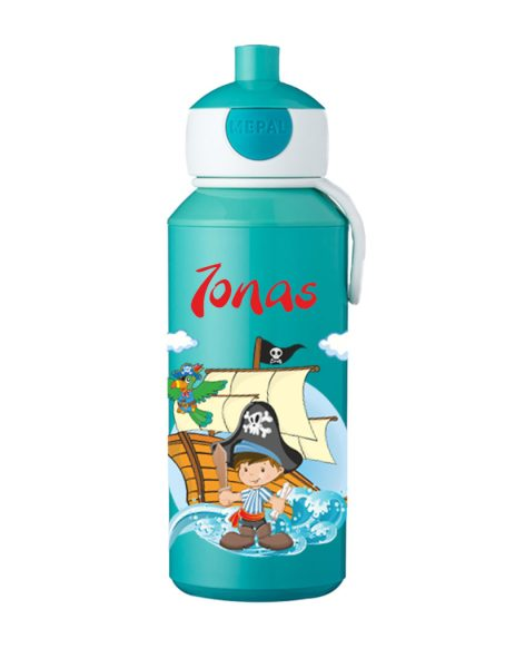 Trinkflasche Mepal Campus Pop-Up türkis Pirat