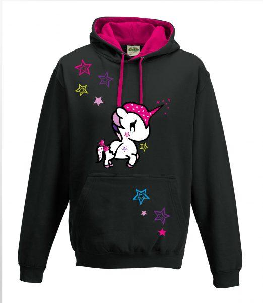 Kapuzenpullover Pullover Hoodie Einhorn Unicorn Funny