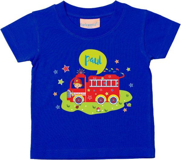 Baby T-Shirt Feuerwehr Größe 62