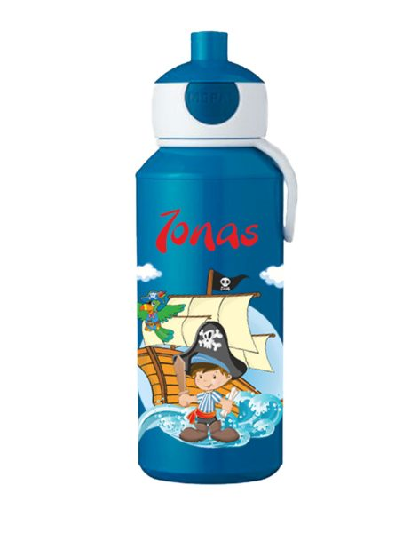 Trinkflasche Mepal Campus Pop-Up Blau Pirat