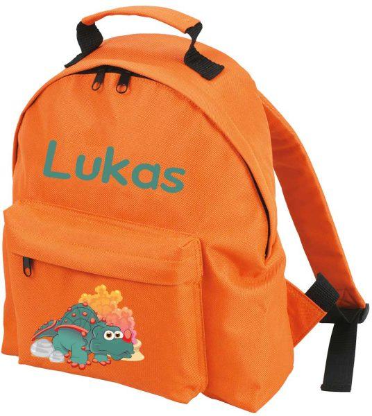 Kinderrucksack Classic Orange - Motivauswahl