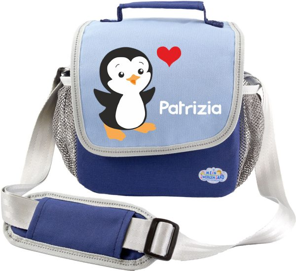 Kindergartentasche Happy Knirps blau Pinguin