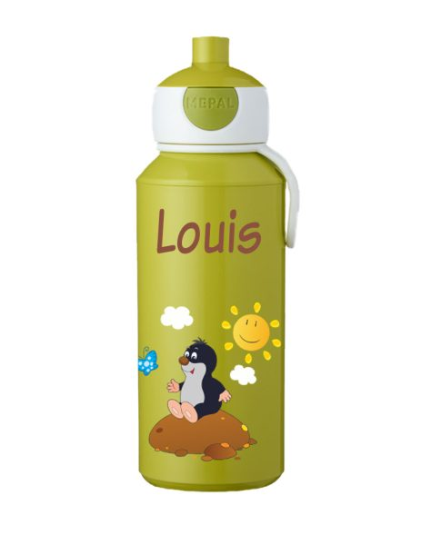 Trinkflasche Mepal Campus Pop-Up Lime Maulwurf