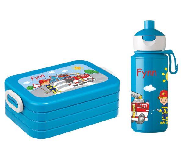 Brotdose Lunchbox Maxi Take A Break midi + Campus Pop-up Trinkflasche