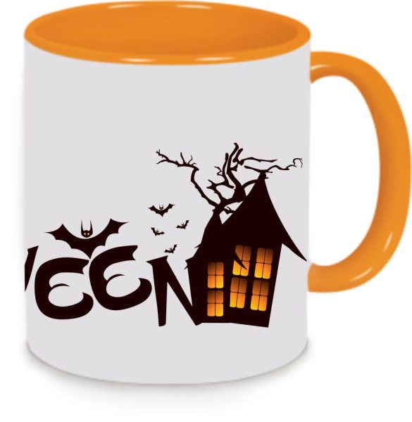 Tasse Orange Halloween