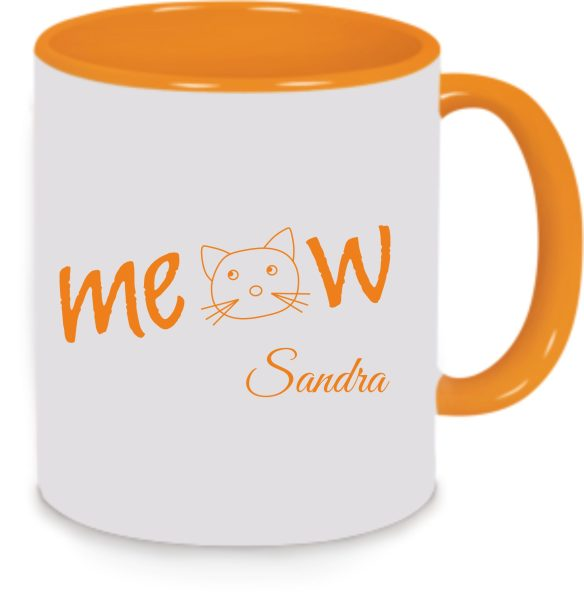 Tasse Katze Meow