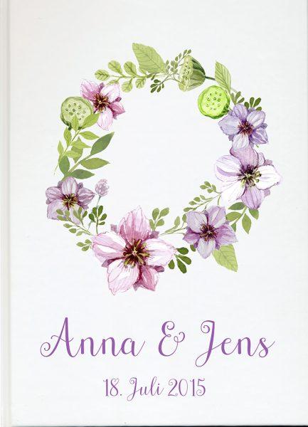Personalisiertes Gästebuch für Ihre Hochzeit (Motiv 33)