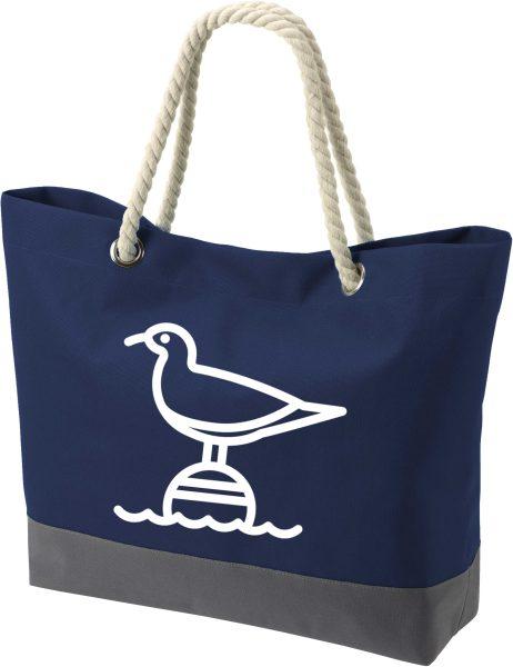Shopper Bag Einkaufstasche Maritim Nautical Seagul Möwe