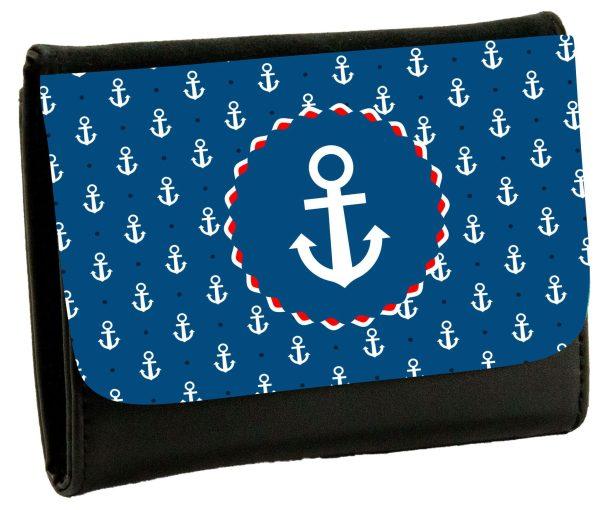 Geldbeutel Portemonaie Maritim Nautical Anker